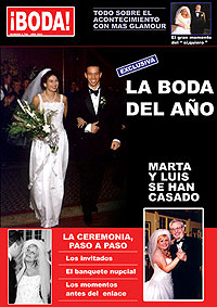 La revista boda como recordatorio